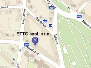 Mapa ETTC spol. s r.o.